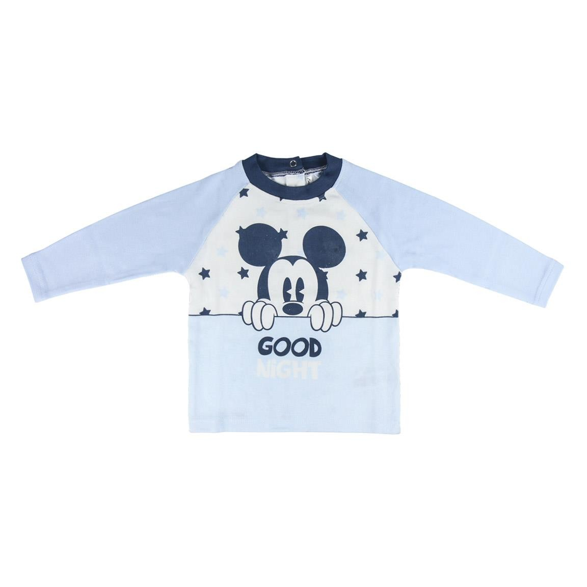 Pigiama Primaverile Mickey Mouse Good Night 1-3Anni