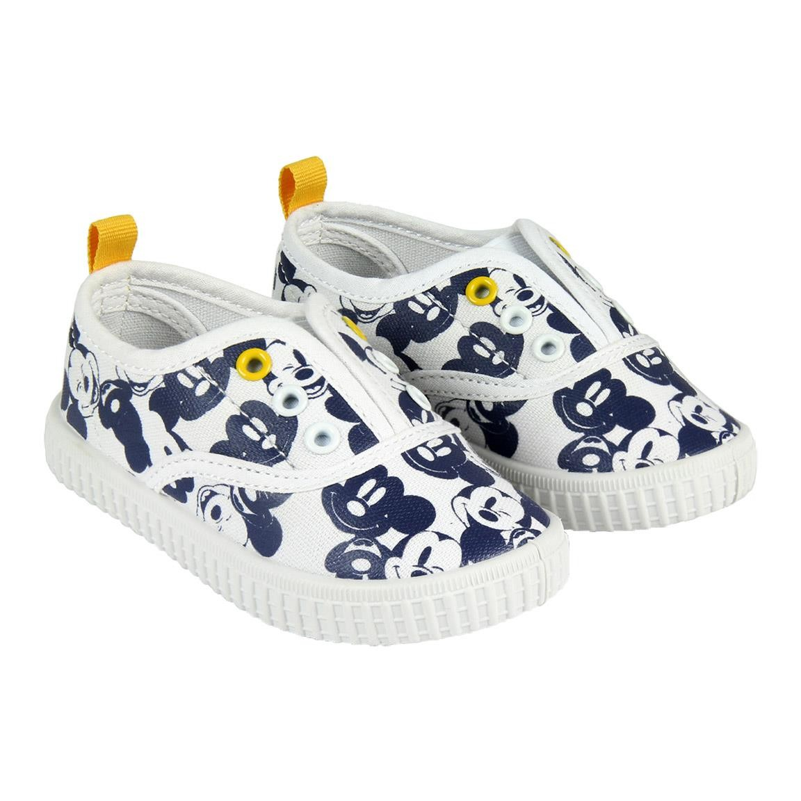Scarpa in tela Slip-On Mickey Mouse Icon