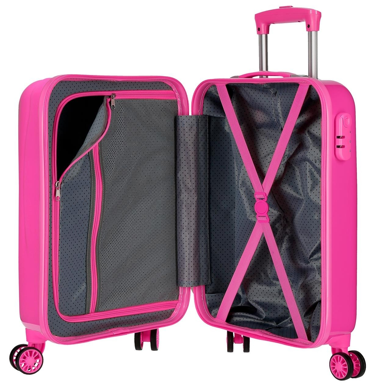 Trolley in ABS Minnie Fabulous Fuxia