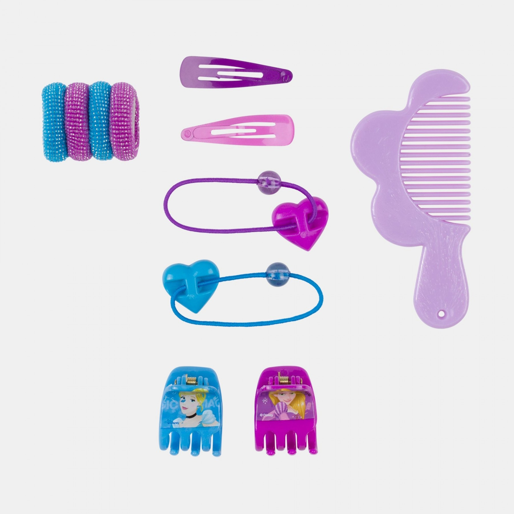 Beauty set accessori capelli Principesse Disney