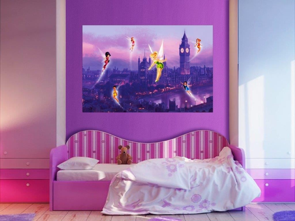 Trilli Disney Fairies Decorazione Murales 160x115cm