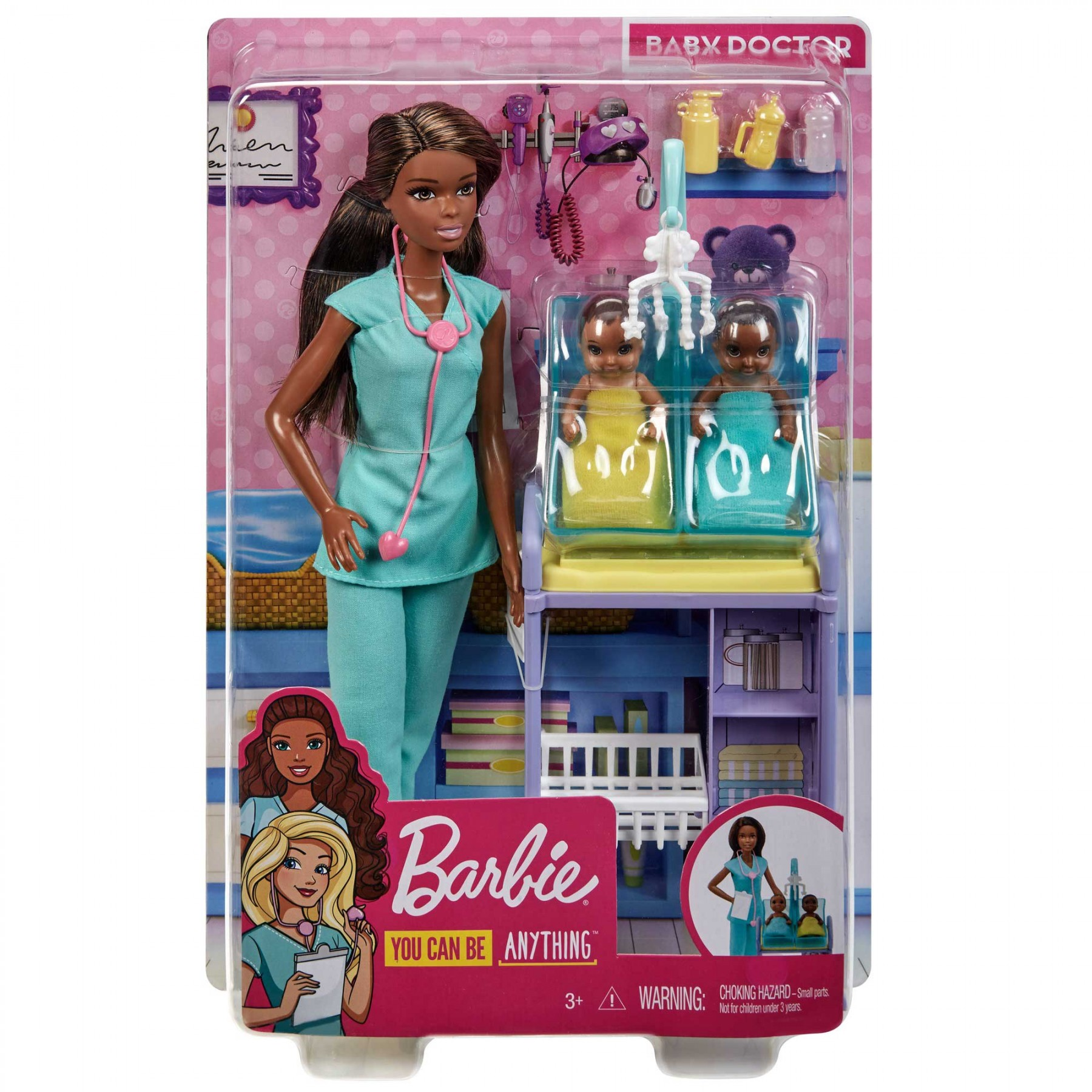Barbie Carriere Playset Pediatra con Bambola