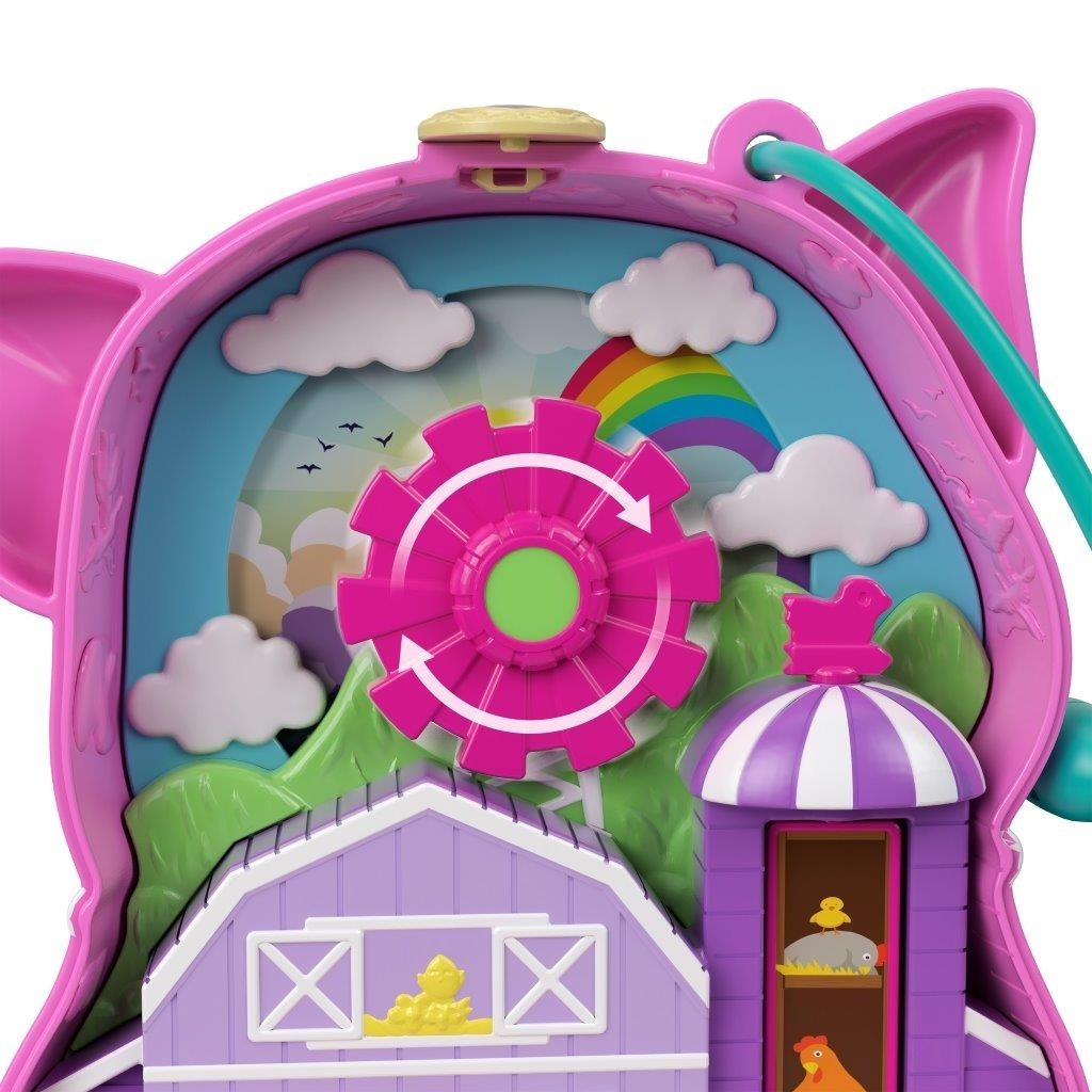 Polly Pocket Cofanetto Fattoria del Maialino