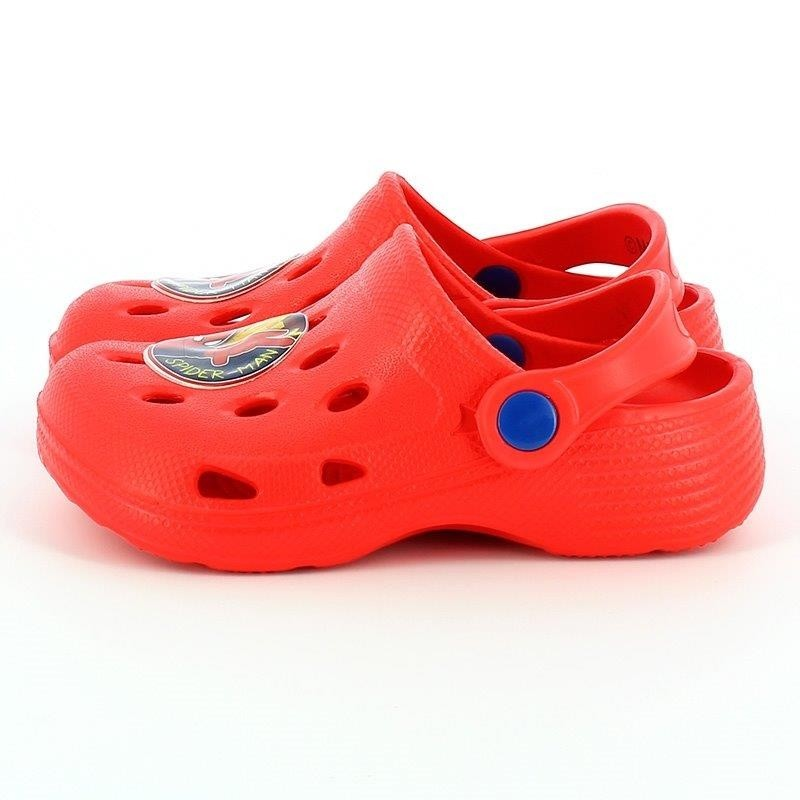 Sandalo Sabot Simil Crocs Spiderman