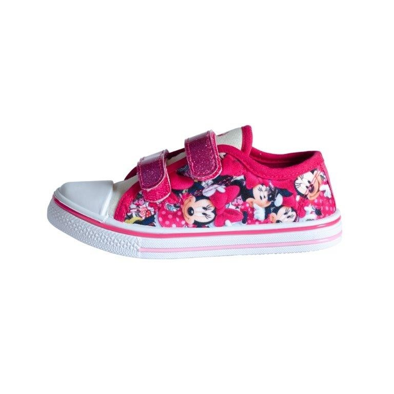 Scarpina in tela Disney Minnie