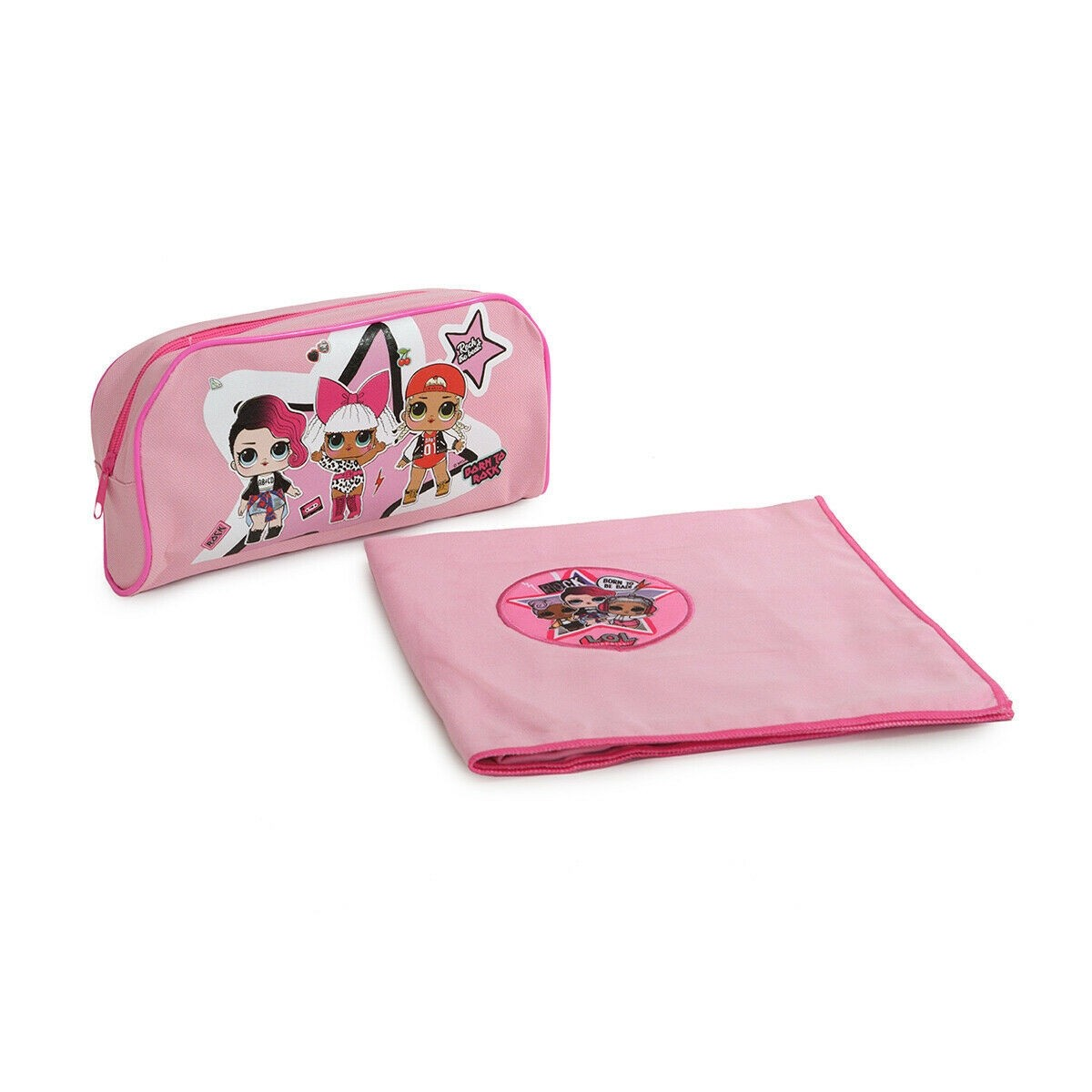 LOL Surprise Telo Bagno e Beauty Case in Set Regalo