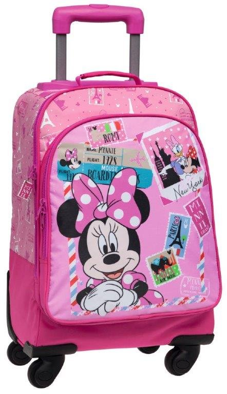 663778ae48 Zaino Trolley Scuola Elementare Disney Minnie Travel | TocTocShop