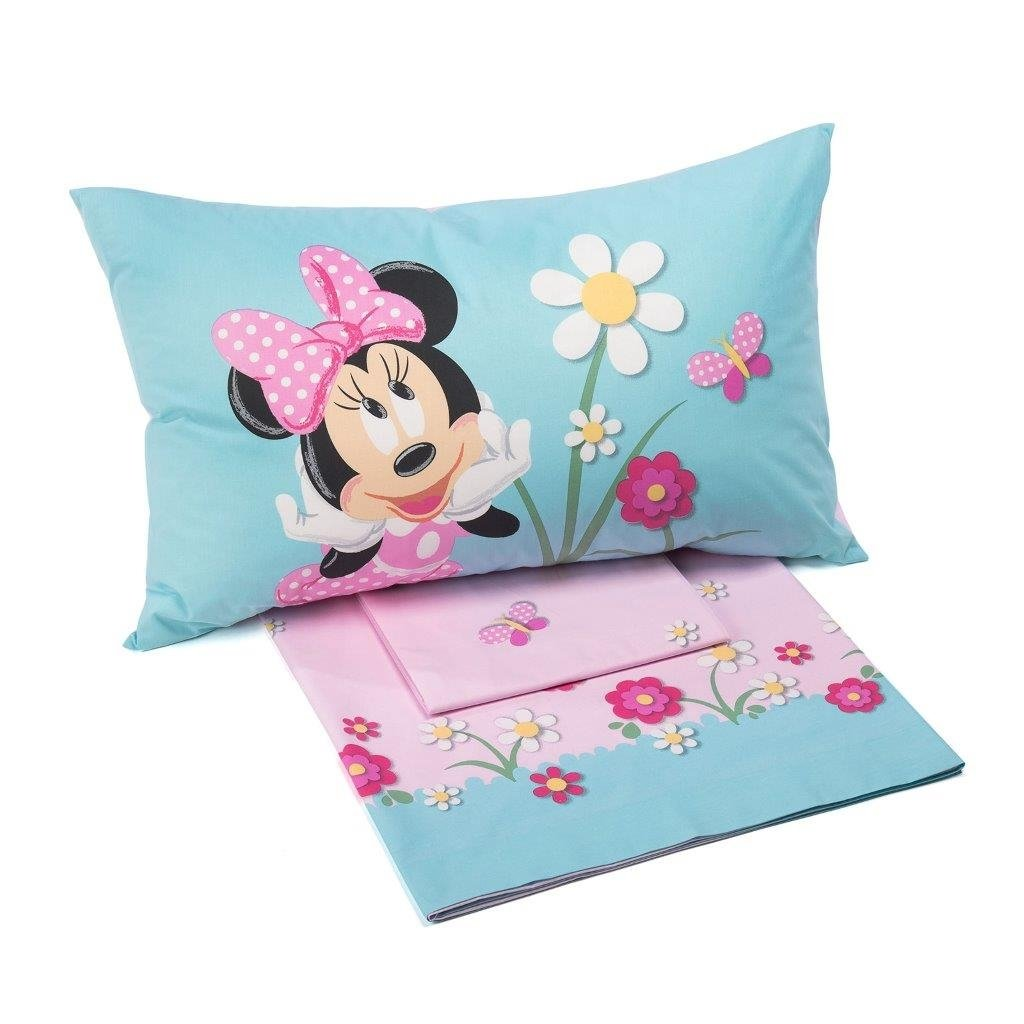 Completo Lenzuola Letto Singolo Minnie Country Disney by Caleffi