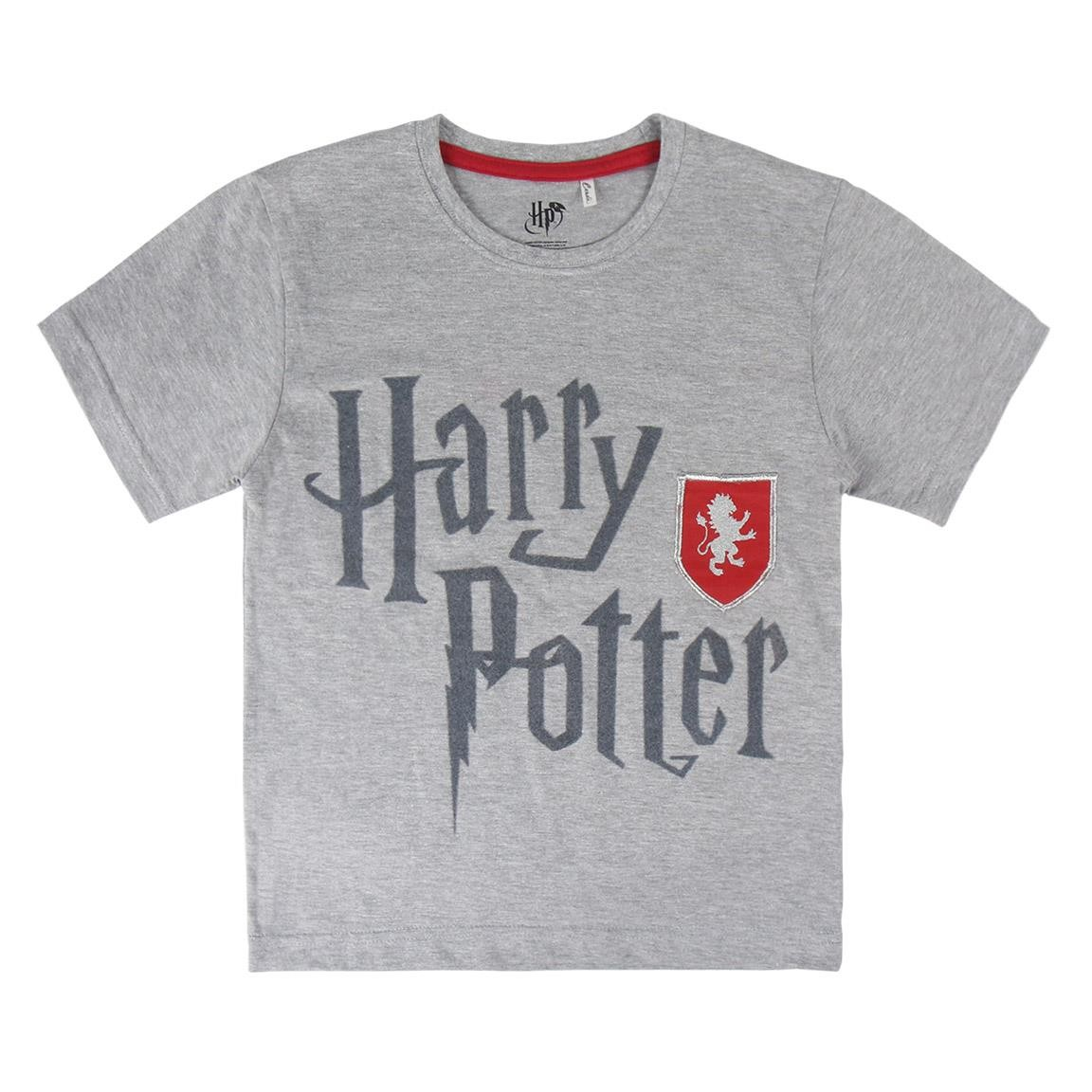 T Shirt Harry Potter grigia