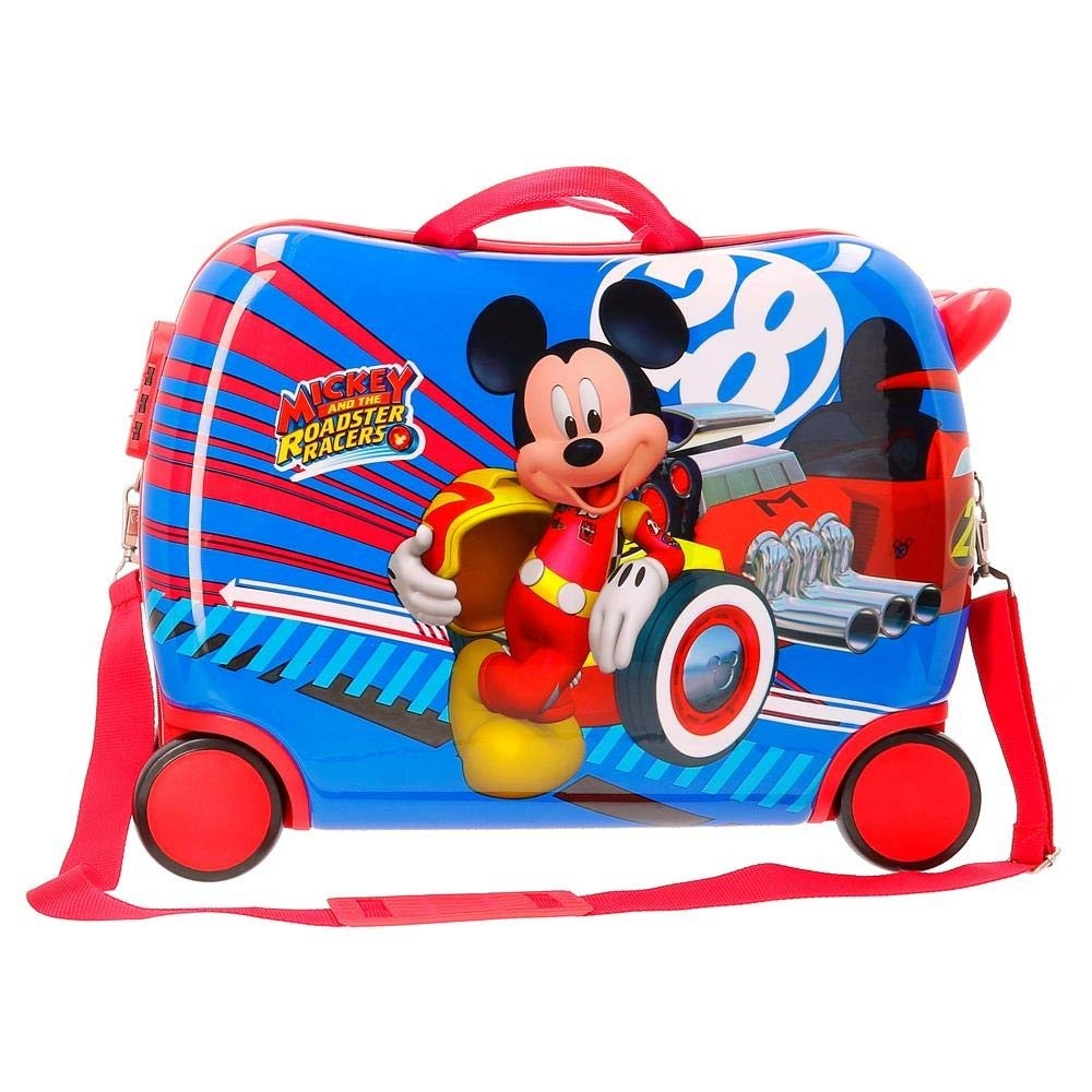 Valigia cavalcabile Mickey Mouse Racers