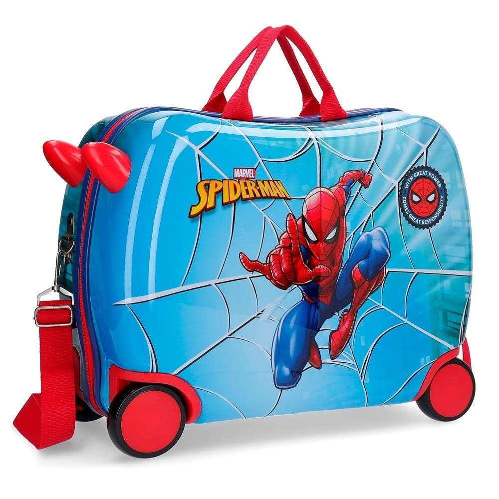 Valigia cavalcabile Spiderman Street