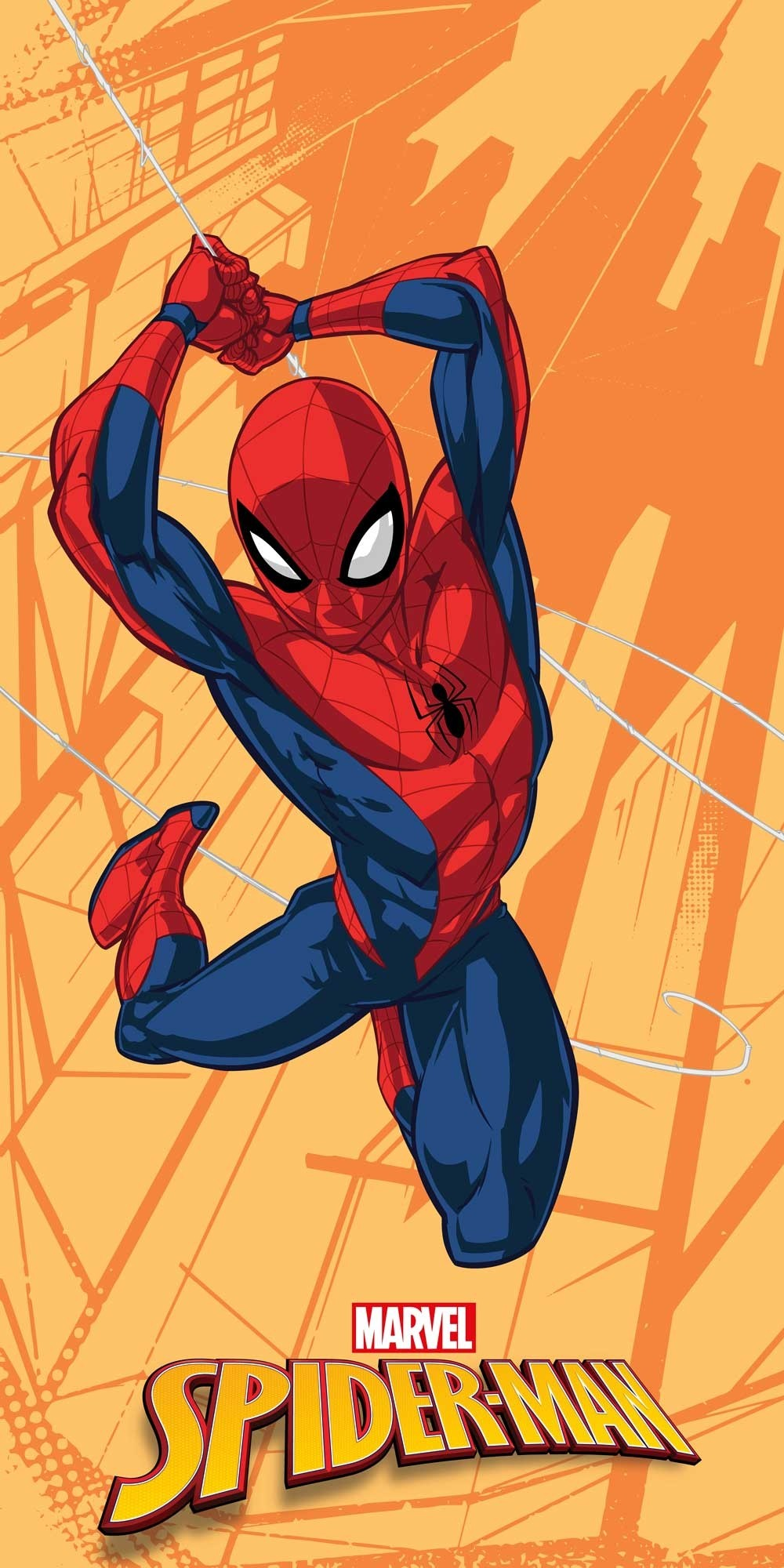 Telo Mare Spiderman in Microfibra 70x140cm