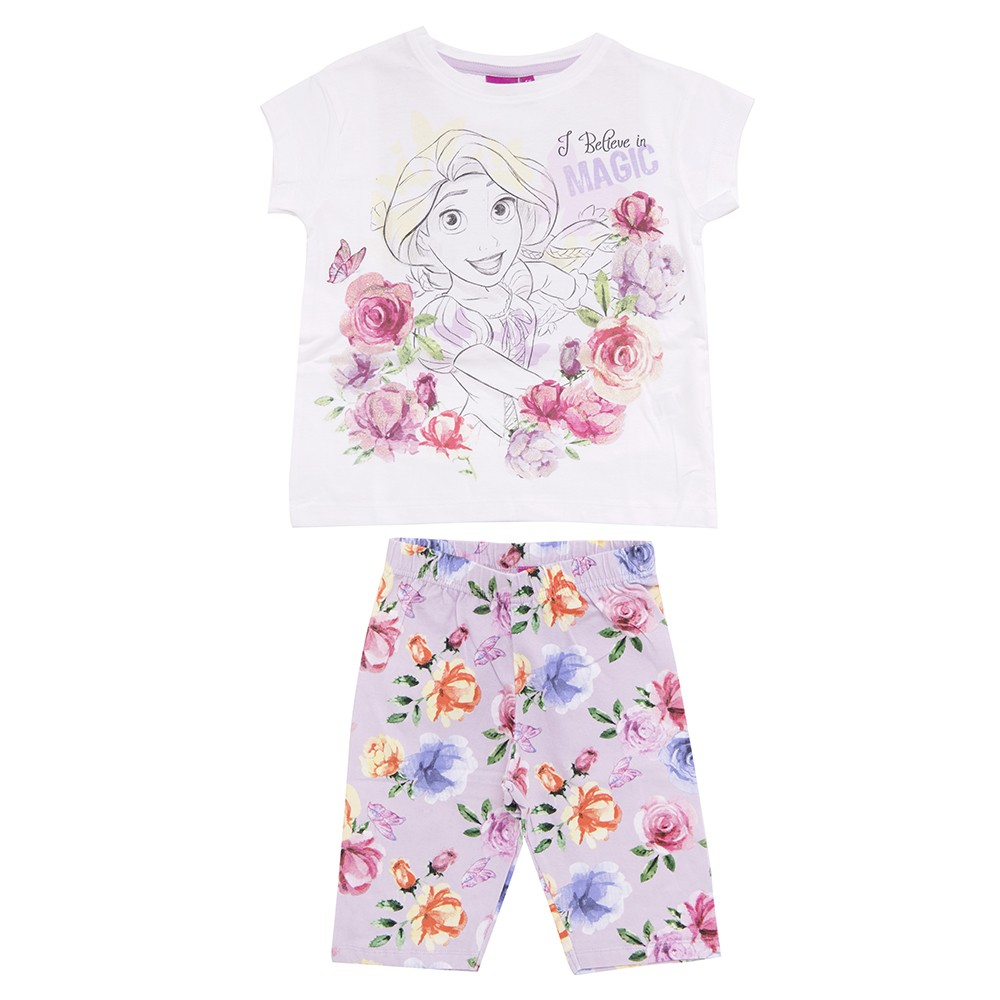 Completo T-Shirt e Leggings  Principesse Disney I Believe in Magic