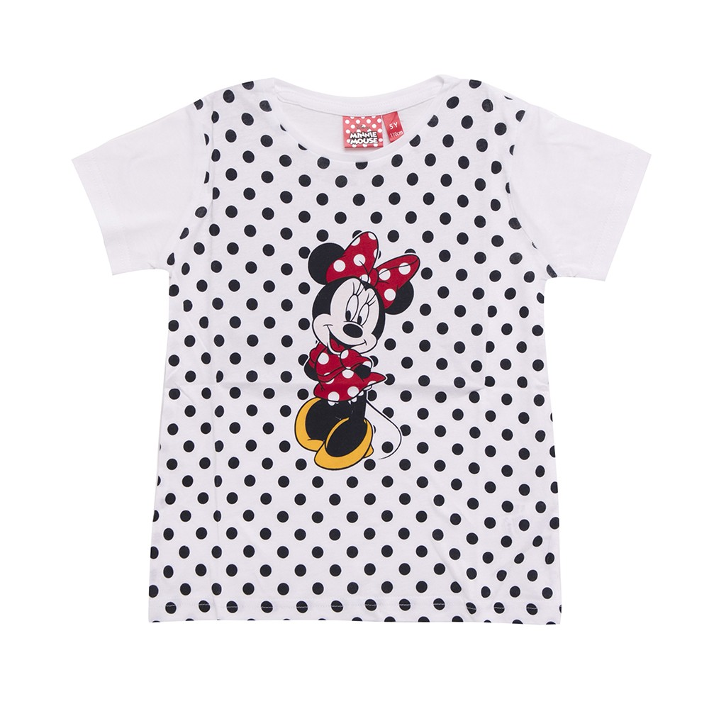 Maglietta T Shirt Minnie Pois
