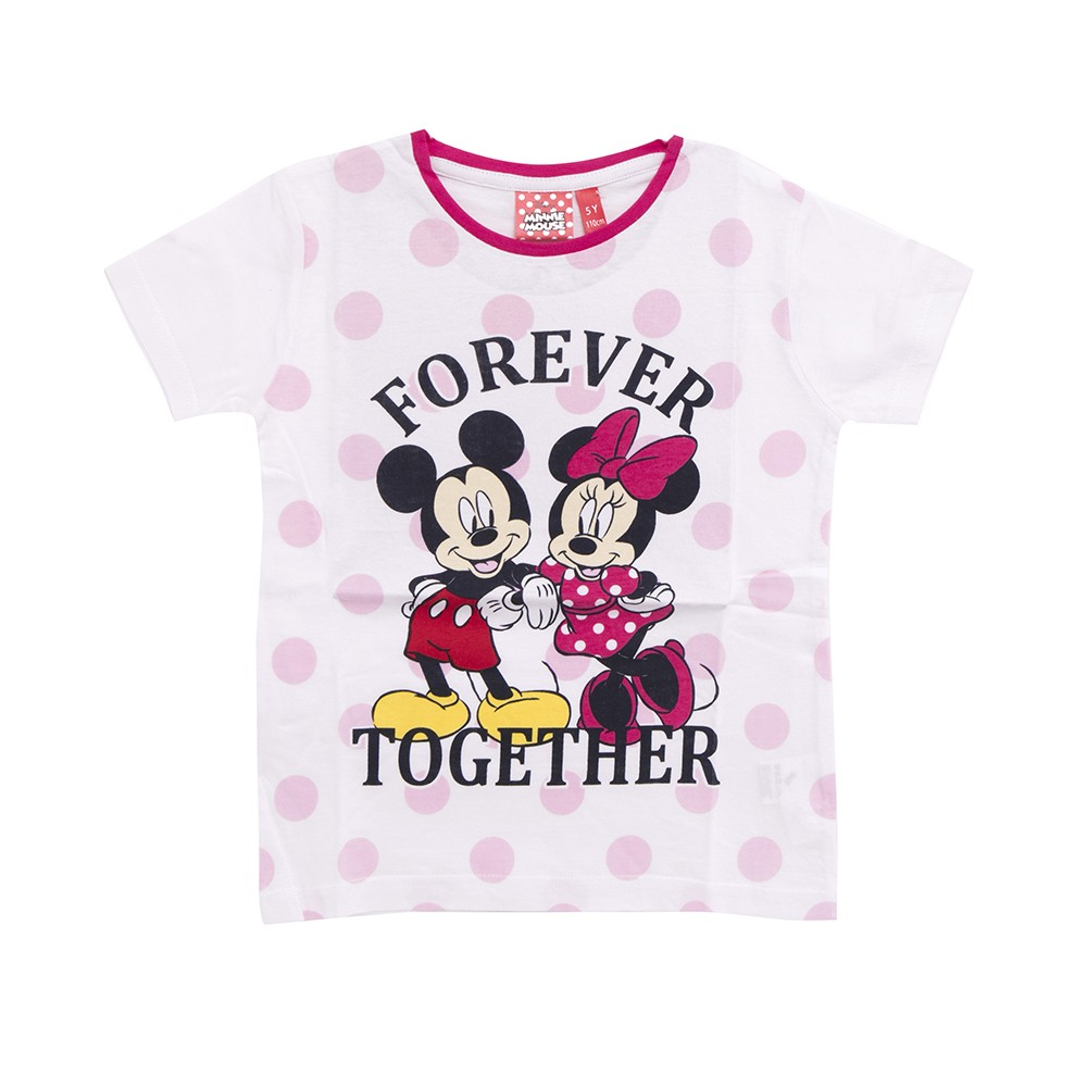 Maglietta T Shirt Mickey e Minnie Forever Together