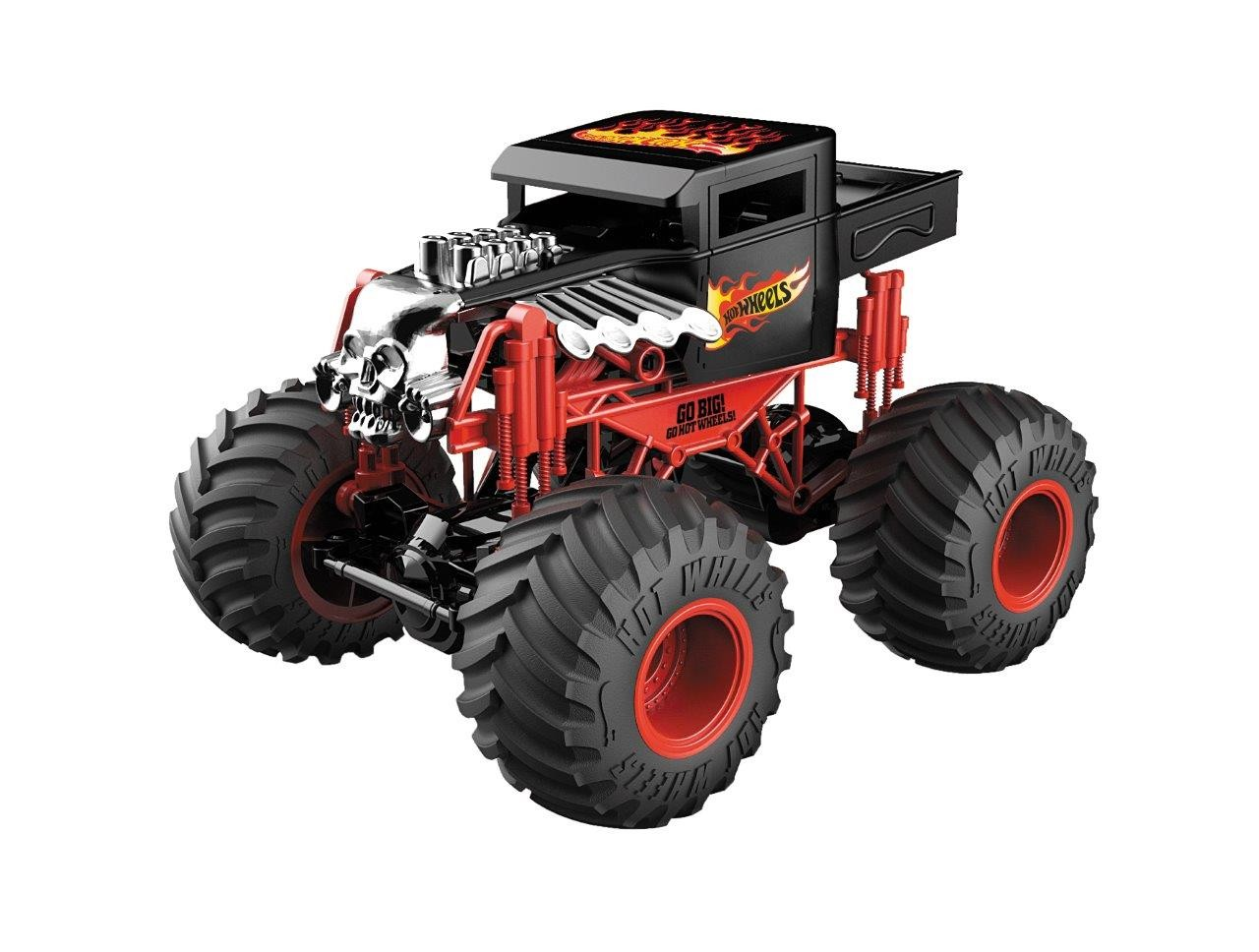 Radiocomandato Hot Wheels Monster Trucks Bone Shaker