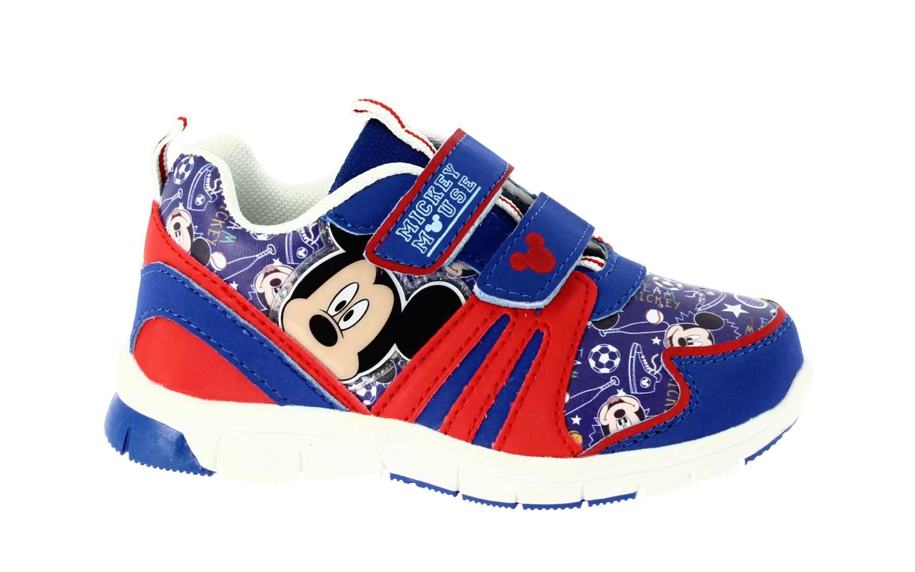 Scarpa Training Mickey Mouse con Strappi