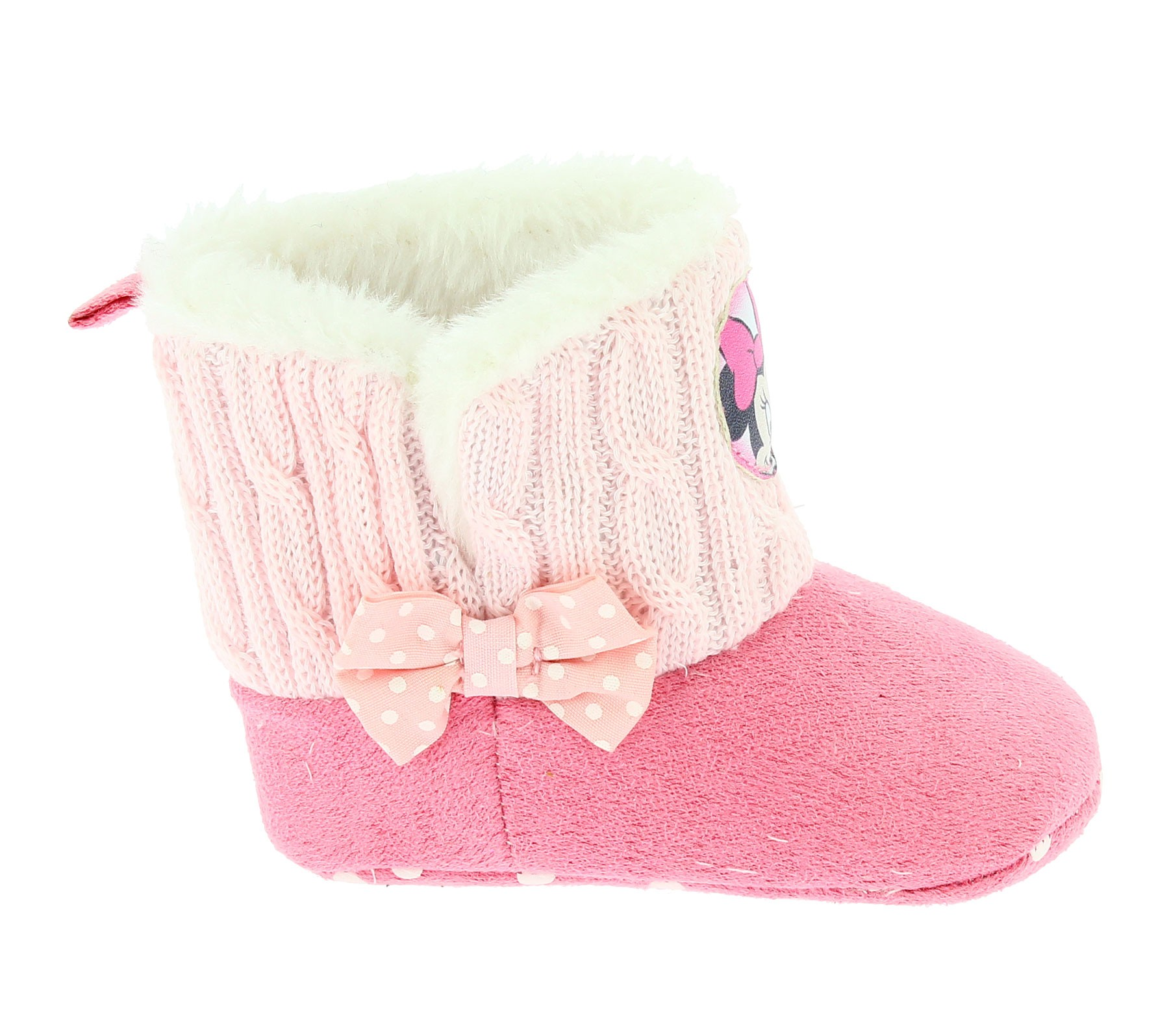Stivaletto neonata Minnie Rosa