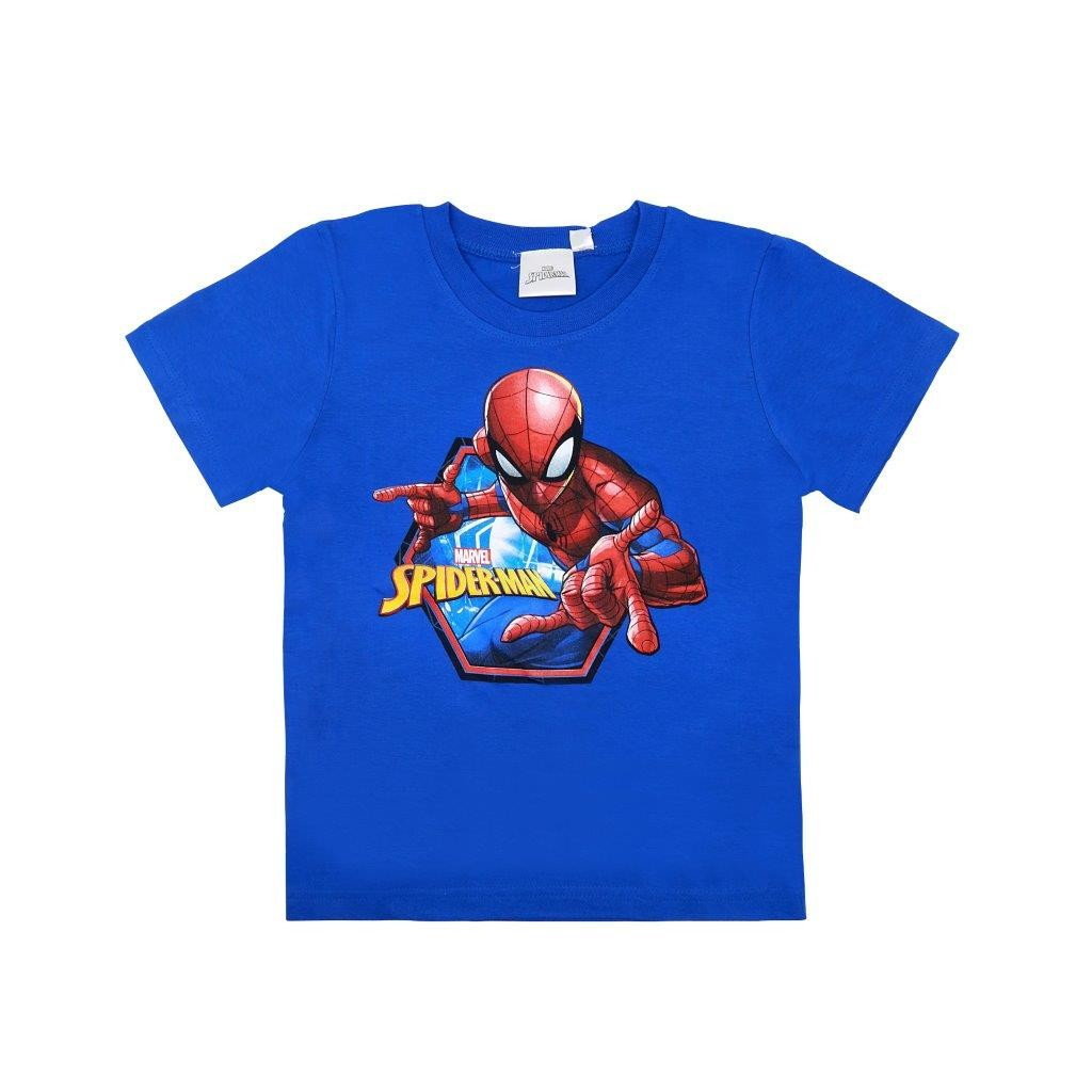 T Shirt Manica corta Bluette Spiderman