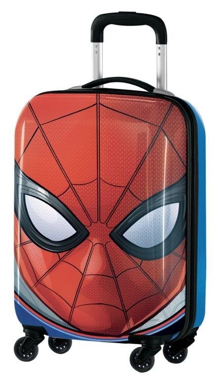 Valigia Trolley In ABS 53cm Spiderman