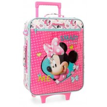 Valigia Trolley Morbida Disney Minnie Happy