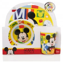 Set Pranzo in Melamina Mickey Mouse