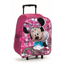 Zaino Trolley Asilo Disney Minnie Rosa