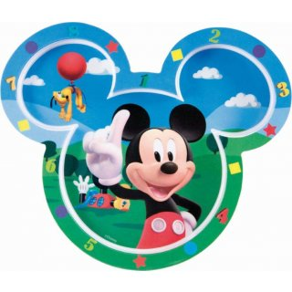 Disney Mickey Mouse Piatto Piano Sagomato