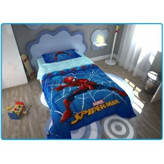 Trapunta Invernale in Microfibra Spiderman Marvel