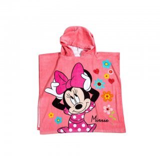 Asciugamano Poncho Minnie Disney by Caleffi