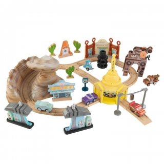Disney Cars Play Set 50 pezzi Radiator Springs