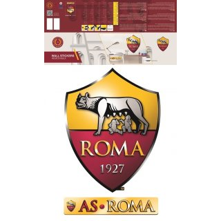 Maxi Decorazione da Muro AS Roma Logo