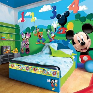 Decorazione da Muro Mickey Mouse ClubHouse 254x184cm