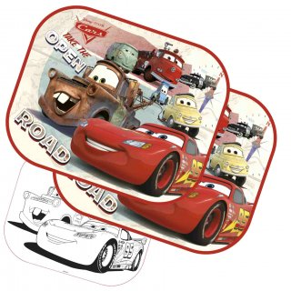 Disney Cars Coppia Di Tendine Parasole