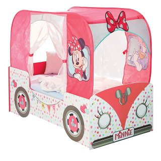 Disney Minnie Lettino Camper con tenda a baldacchino