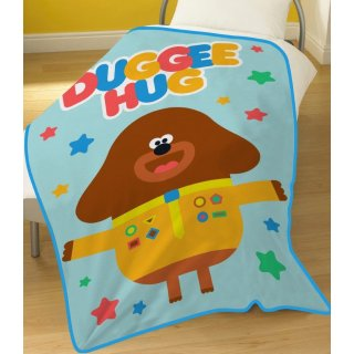 Plaid in Pile Hey Duggee