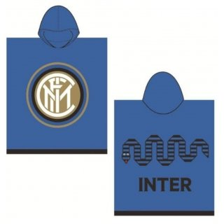 Poncho in Spugna Inter