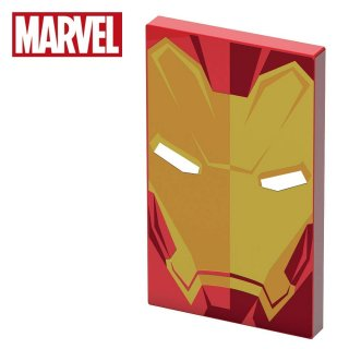 Power bank Carica Batterie Portatile Iron Man