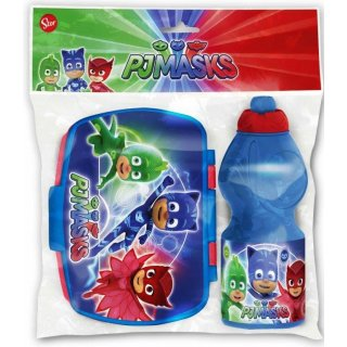 Set Borraccia e Porta Merenda Super Pigiamini Pj Masks