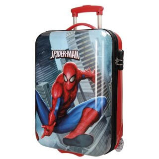 Trolley in ABS 55 cm Spiderman City Valigia Bambino