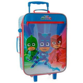 Trolley Valigia Morbida Super Pigiamini PJ Masks