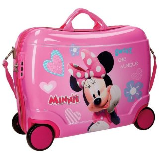 Valigia Cavalcabile e Trainabile Disney Minnie Favolosa