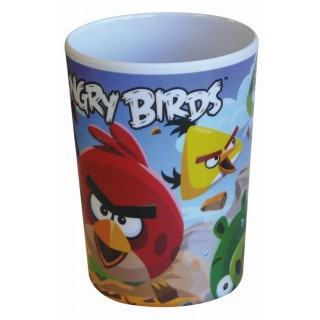 Angry Birds Bicchiere in Melamina