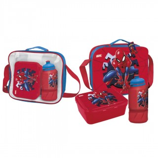 Set portamerenda con accessori Spiderman