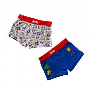 Set 2 Boxer in cotone Avengers