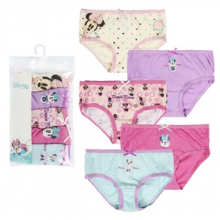 Set da 5 Mutandine slip Minnie