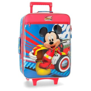 Trolley Valigia morbida Disney Mickey Mouse Racers