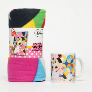 Set Regalo Tazza e Plaid Minnie