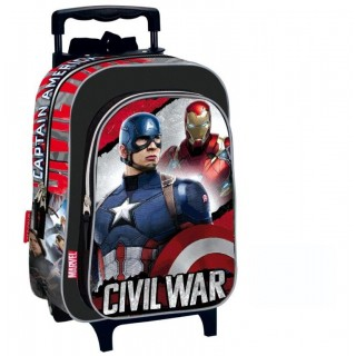 trolley civil war zaino capitan america iron man avengers