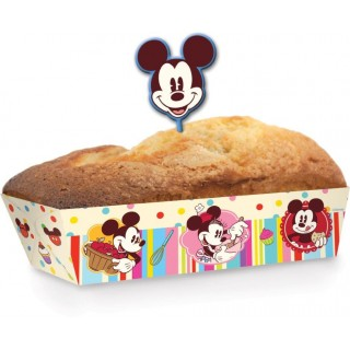 Set di 10 Stampi in Carta per Mini Torte Mickey Mouse Disney Cake Design